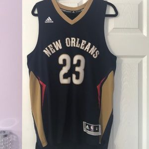 Authentic Pelicans Anthony Davis Jersey